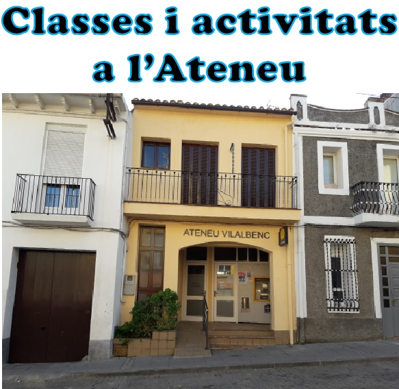 Classes i activitats a l'Ateneu