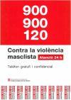 Cartell telèfon contra la violència masclista