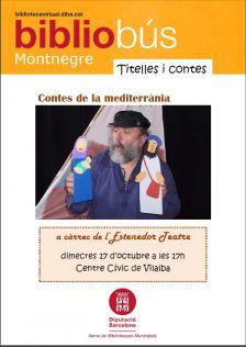 Cartell contes de la mediterrània