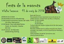 Cartell Festa de la Mascota