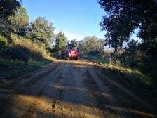 Arranjament camí d'accés al cementiri
