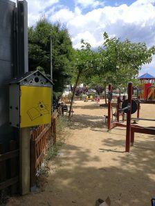 Biblio Niu situada al Parc infantil
