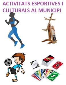 Activitats esportives i culturals al municipi